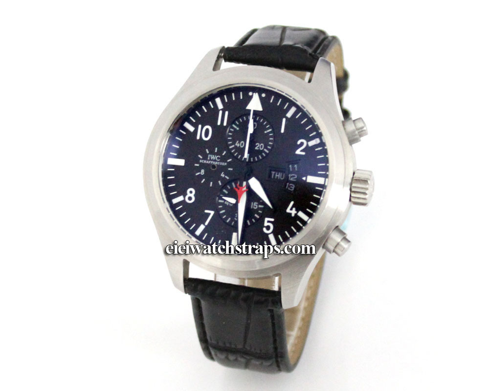 in on tie piaget leather gold emperador watches crocodile black white strap cushionn