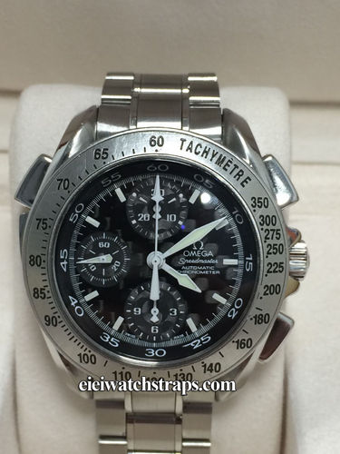 Omega Speedmaster Chronograph Spit Seconds Rattrapante with Carbon Fibre Dial