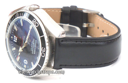 Back Leather Watch strap For Omega Seamaster professional Watches