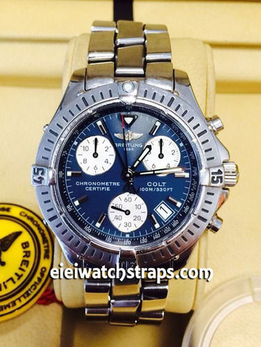 Breitling Colt Chronograph White Dial Stainless Steel Watch (SOLD)