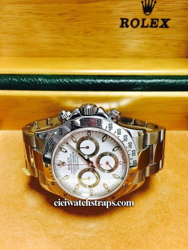 Rolex Daytona Watch 116520 White Dial