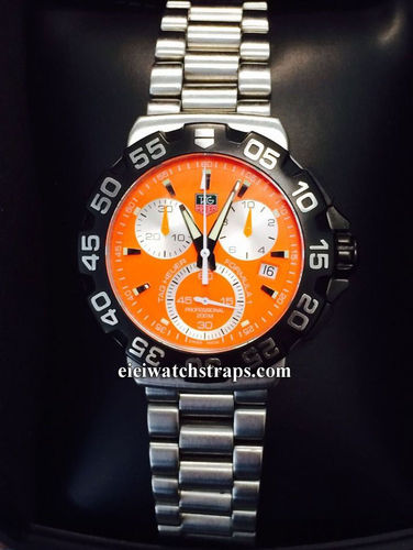 Tag Heuer Formula 1 Chronograph CAH1113 Orange Dial (SOLD)