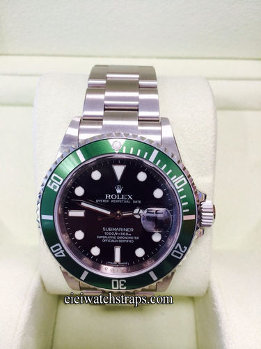 "Rolex Submariner Date LV – ""Green Sub""  Anniversary submariner 2008"