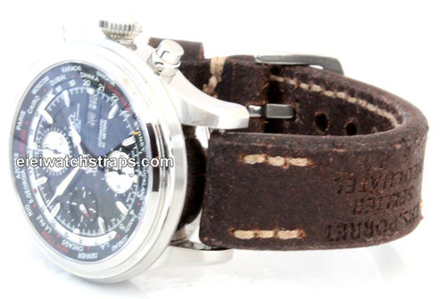 Potter Handmade Vintage style Ammo leather watchstrap for Ball Watches