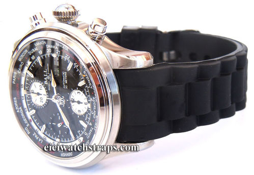High Grade Silicon Rubber Oyster Pattern With Curved Lugs For Ball Watches
