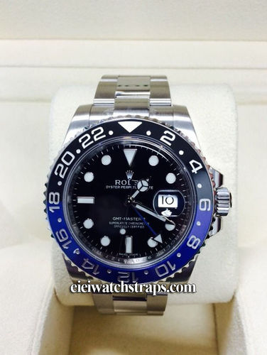 Rolex GMT-Master II Stainless Steel Black and Blue 116710BLNR