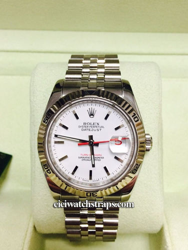 Rolex Turnograph Datejust Steel Bracelet Watch Model 116264
