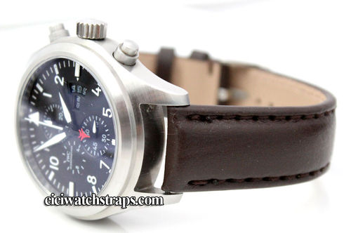 Brown Leather Watchstrap For IWC pilot's watches