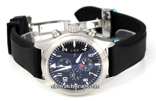 Monza 22mm Silicon Rubber Watchstrap For IWC pilot's watches