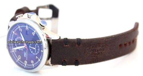 CuygVintage Style Ammo Leather Watchstrap For IWC Portuguese