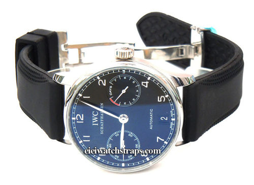 Monza 22mm Silicon Rubber Watchstrap For IWC Portuguese