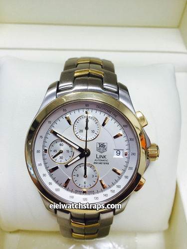 Gents Tag Heuer Link Steel And Gold Automatic Cal 16