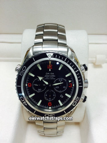 Omega Seamaster Planet Ocean Co-axial Chronograph Black Bezel (SOLD)