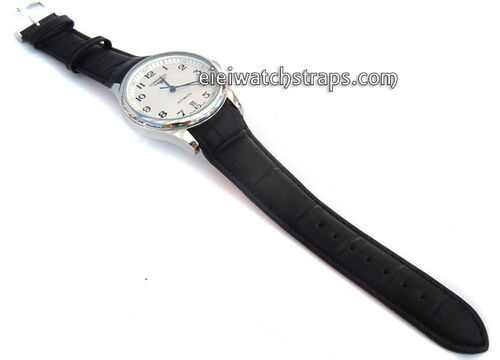 Crocodile Cur ved lug Ended Watch Strap For Longines Watches