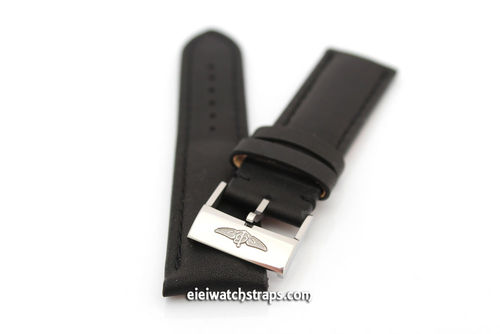 Genuine Brand New Breitling Black Calf Leather Strap