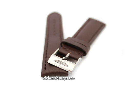Breitling Navitimer Genuine Brand New Breitling Brown Calf Leather Strap