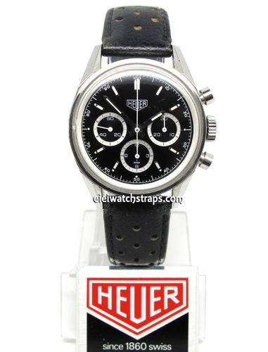 "Heuer Vintage Carrera ""white rings"