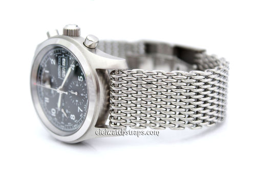 Super Jubilee Butterfly Shark Mesh Bracelet Foe Hamiltion Watches