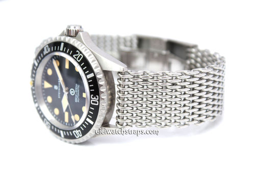 Stainless Steel Thick Milanese Mesh Watch Strap. Higher quality For Steinhart Watches