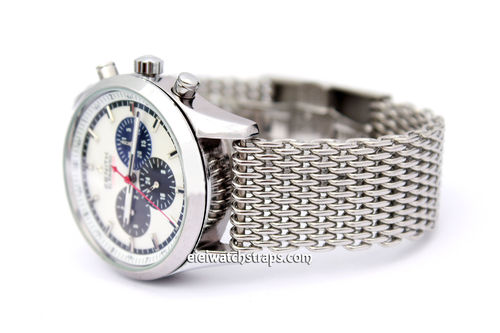Stainless Steel Thick Milanese Mesh Watch Strap. Higher quality For Zenith Watches