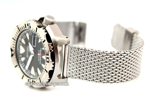 Stainless Steel Watch Mesh Bracelet For Seiko Watches