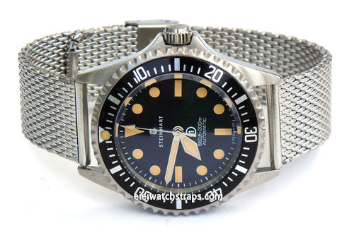 Stainless Steel Watch Mesh Bracelet For Steinhart Watches