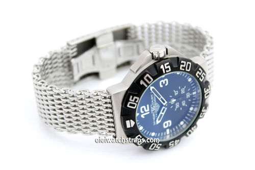 Stainless Steel Thick Milanese Mesh Watch Strap. Higher quality For TAG Heuer F1