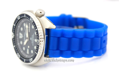 Oyster Pattern Silicon Rubber For Seiko Turtle