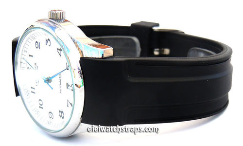 20mm Pro Divers Curved Lugs Silicon Rubber watch strap For Longines Watches