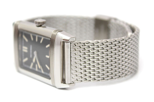 Stainless Steel Watch Mesh Bracelet For Jaeger-LeCoultre Watches