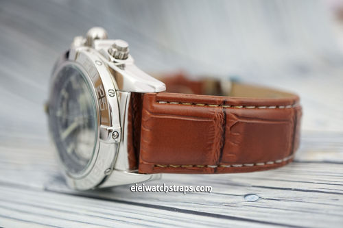 Breitling Superocean Brown Crocodile Watch Strap