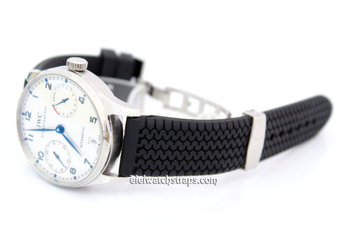 IWC Portuguese Tyre Tread Rubber Watch Strap