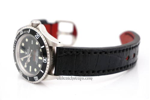 Rolex Sea-Dweller Handmade Alligator Watch Strap