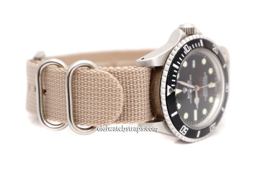Rolex Red Sea-Dweller G10 Ballistic Heavy Duty Sand Nylon NATO Strap