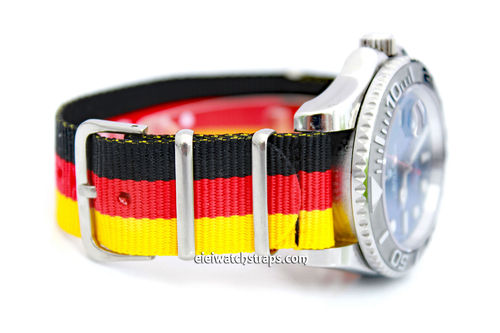 G10 Ballistic Heavy Duty German Nylon NATO Strap