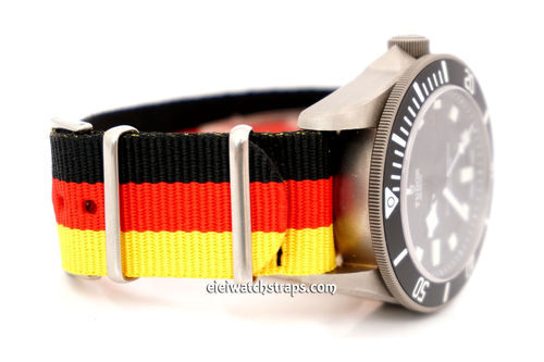 G10 Ballistic Heavy Duty German Flag Nylon NATO Strap