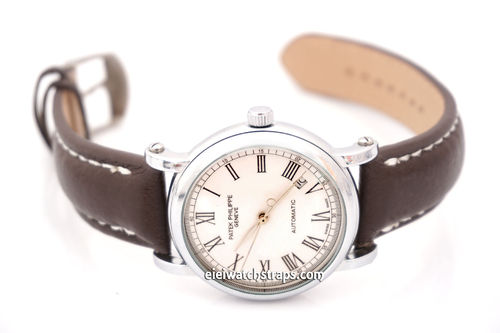 Patek Philippe Brown Leather Watch Strap
