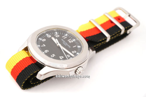 Patek Philippe Flag of Germany NATO Watch Strap