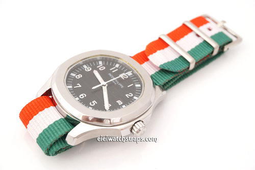 Patek Philippe Flag of Italy NATO Watch Strap