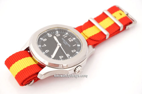 Patek Philippe Flag of Spain NATO Watch Strap