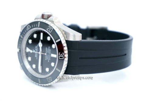 Rolex Submariner Rubber B Watch Strap Tang buckle