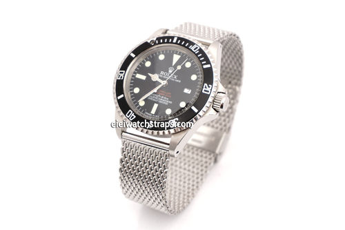 Stainless Steel Mesh Bracelet Rolex Watches