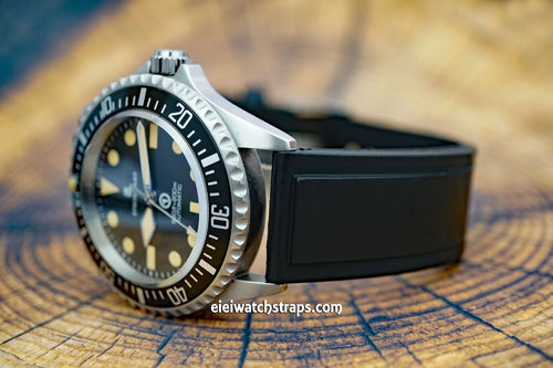 Diver Pro III 20mm Rubber Watch Strap For Steinhart Watches