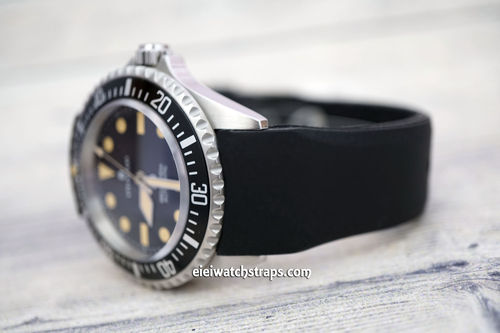 Steinhart Ocean Vintage Military S-Tech Divers Curved Lugs Rubber Watch Strap