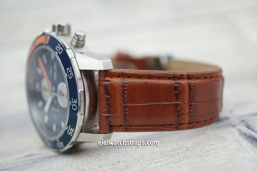 IWC Aquatimer Brown Crocodile Leather Watch Strap