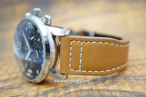 Montblanc Aviator Tan Leather Watch Strap