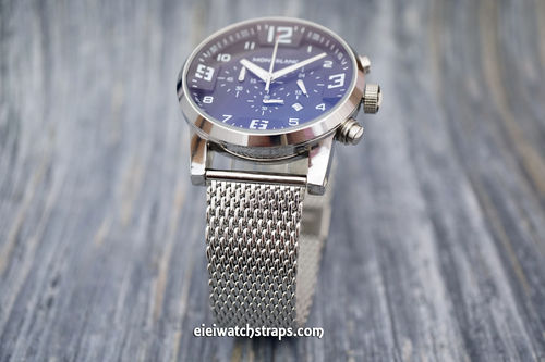 SMontblanc Stainless Steel Watch Mesh Bracelet