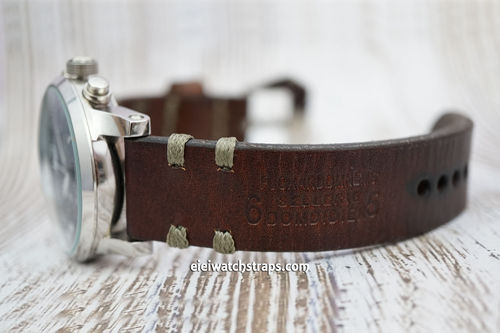 Montblanc Montblanc Don Handmade Vintage Style Ammo Watch Strap