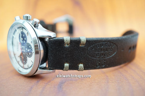 Zenith Handmade CGEY Vintage Syle Ammo Leather Watch Strap