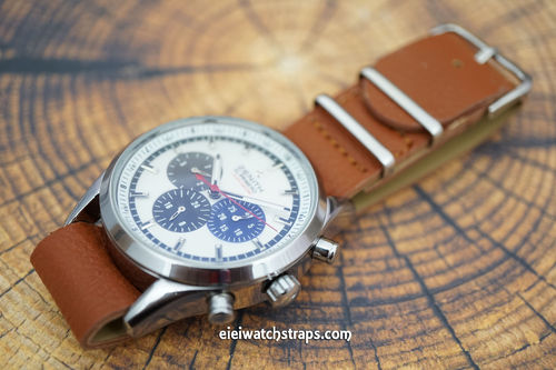 Zenith El Primero NATO Brown Leather Watch Strap